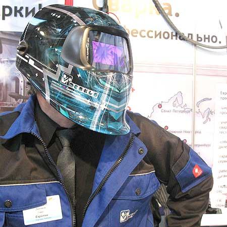 Эксклюзивная сварочная маска-хамелеон Merkle от Speedglas / Новости /Профессиональное сварочное оборудование Merkle. Официальный